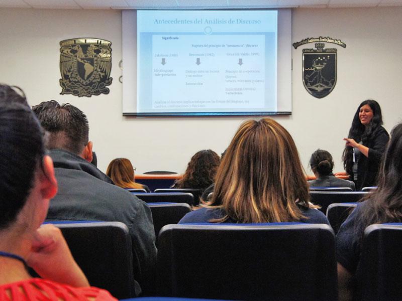 Actividad presencial organizada por estudiantes a distancia UNAM