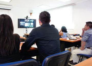 Videoconferencias para estudiantes de Derecho (actividad extracurricular)