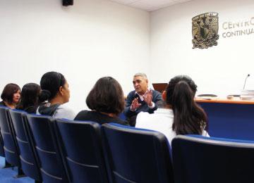 Actividad presencial organizada por estudiantes de las Licenciaturas a distancia CECAD-UABJO-UNAM