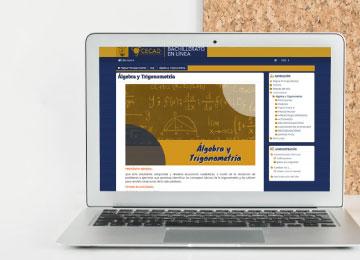 Plataforma del Bachillerato Virtual CECAD-UABJO