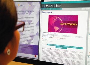 Plataforma virtual de la Licenciatura Economía Social y Desarrollo Local