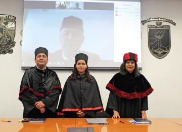 Primera titulación de la Maestría en línea: Sistema Penal Acusatorio Adversarial