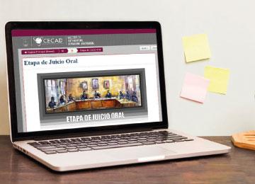 Posgrado en línea para profesionales del Derecho que deseen especializarse en el Sistema Penal Acusatorio